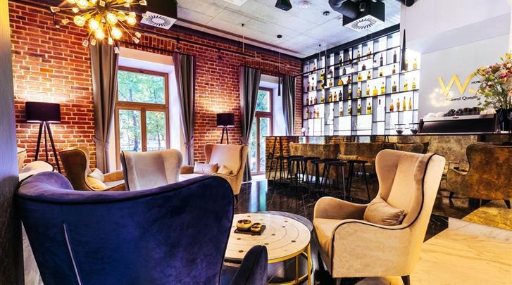 Krakau, Hotel Wawel Queen, Hotel bar