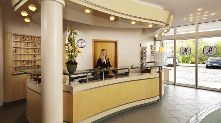 Leipzig, Hotel Markgraf, Receptie