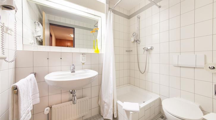 Leipzig, Novum Hotel Ratsholz Leipzig, Badkamer