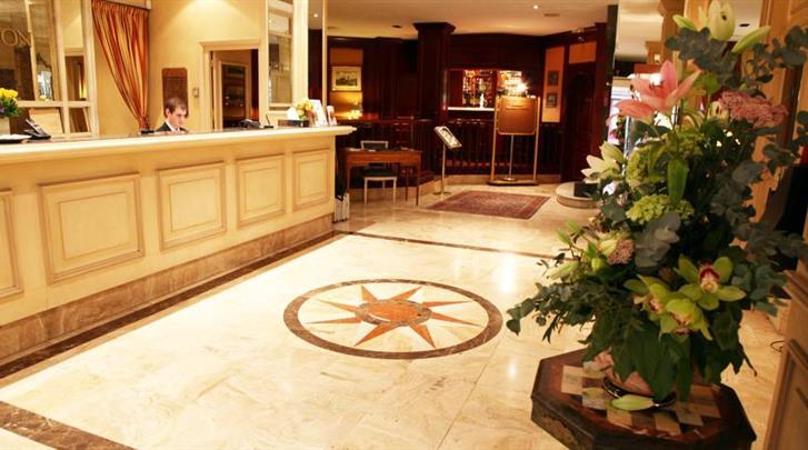 Lille, Hotel Carlton Lille, Receptie