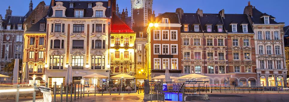 Lille, Lille by night