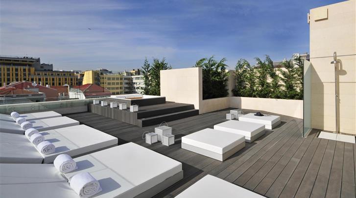 Lissabon, Aparthotel Altis Prime, Dakterras
