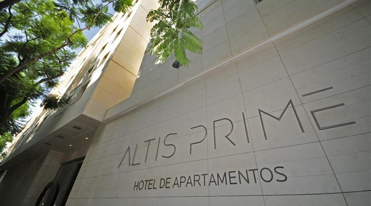 Lissabon, Aparthotel Altis Prime, Façade hotel