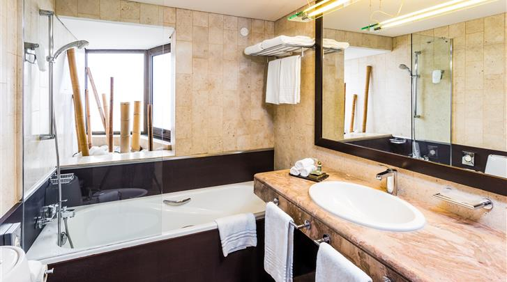 Lissabon, Aparthotel Legendary Lisboa Suites, Badkamer