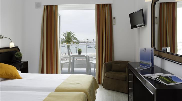 Lissabon, Cascais - Hotel Baia, Standaard kamer zeezicht