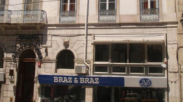 Lissabon, Grande Pensão Residencial Alcobia, Façade hotel