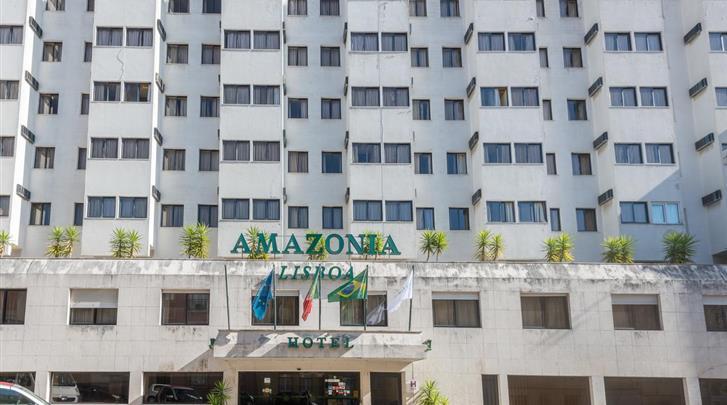 Lissabon, Hotel Amazonia, Façade hotel