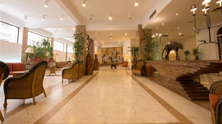 Lissabon, Hotel Amazonia, Lobby