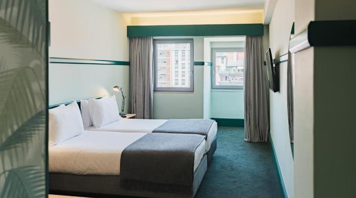 Lissabon, Hotel Amazonia, Standaard kamer