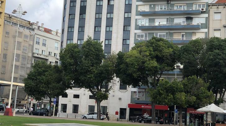 Lissabon, Hotel AS Lisboa, Façade hotel