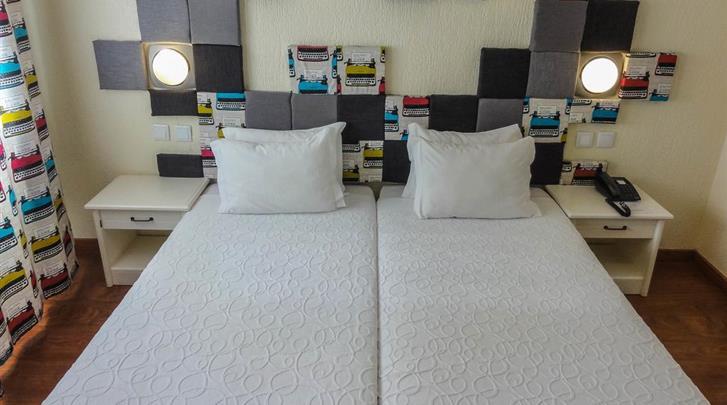 Lissabon, Hotel AS Lisboa, Standaard kamer