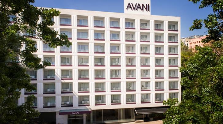 Lissabon, Hotel Avani Avenida Liberdade, Façade hotel