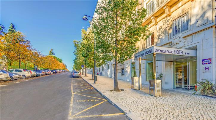 Lissabon, Hotel Avenida Park, Façade hotel