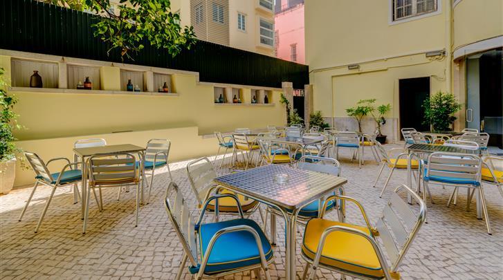 Lissabon, Hotel Avenida Park, Patio