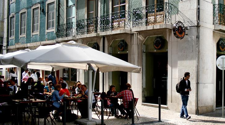 Hotel browns boutique in lissabon for Design boutique hotels lissabon