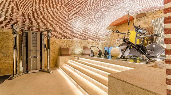 Lissabon, Hotel Chiado Borges, Fitnessruimte