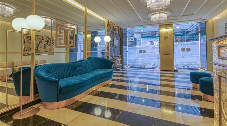 Lissabon, Hotel Chiado Borges, Hal