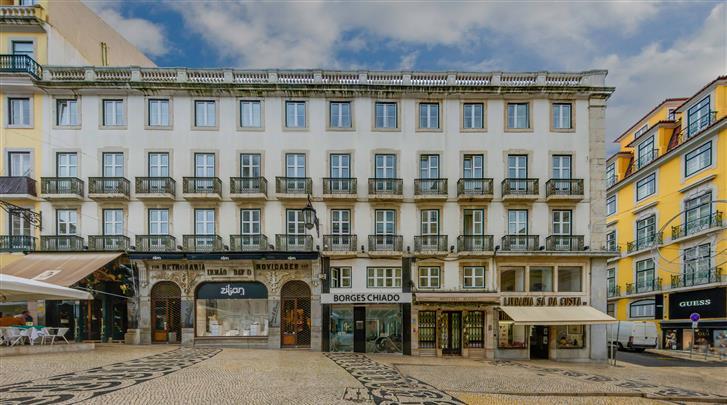 Lissabon, Hotel Chiado Borges, Façade hotel