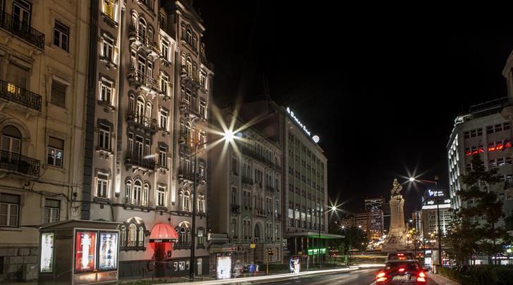 Lissabon, Hotel Expo Astoria, Façade hotel