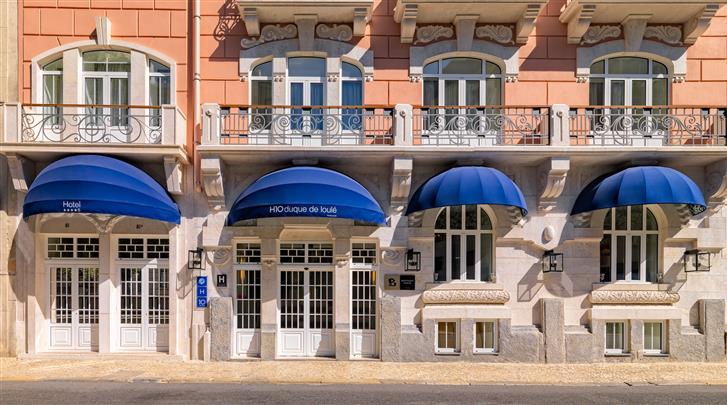 Lissabon, Hotel H10 Duque de Loulé, Façade hotel