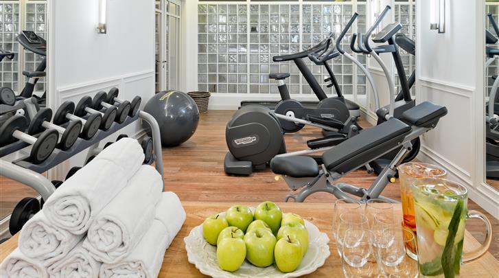 Lissabon, Hotel H10 Duque de Loulé, Fitnessruimte