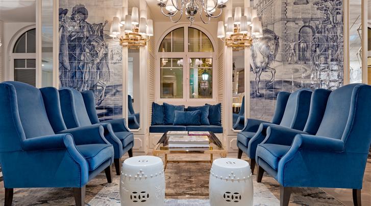 Lissabon, Hotel H10 Duque de Loulé, Lobby