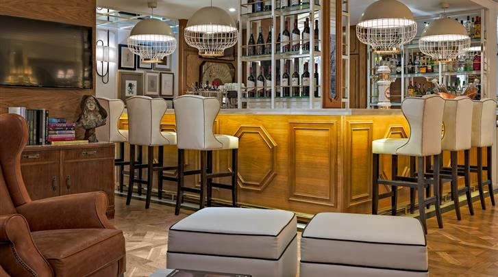 Lissabon, Hotel H10 Duque de Loulé, Lobby bar