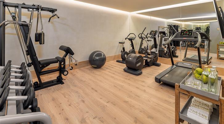 Lissabon, Hotel H10 The One Palacio da Anunciada, Fitnessruimte