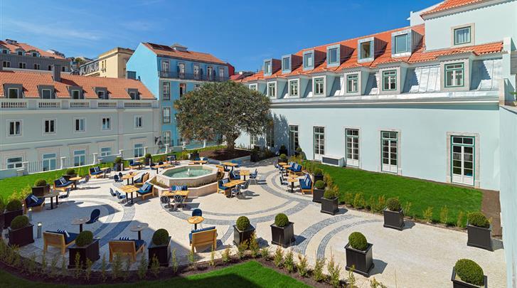 Lissabon, Hotel H10 The One Palacio da Anunciada, Tuin
