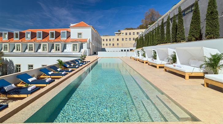 Lissabon, Hotel H10 The One Palacio da Anunciada, Zwembad