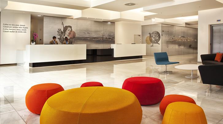 Lissabon, Hotel Jupiter Lisboa, Receptie
