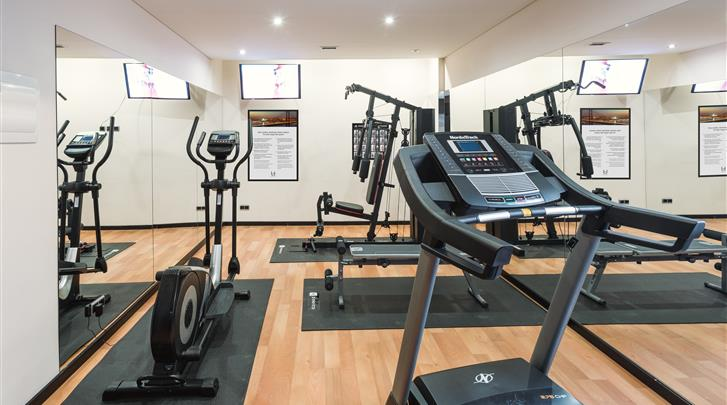 Lissabon, Hotel Lisboa, Fitnessruimte