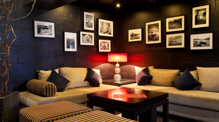 Lissabon, Hotel Lisboa, Lounge
