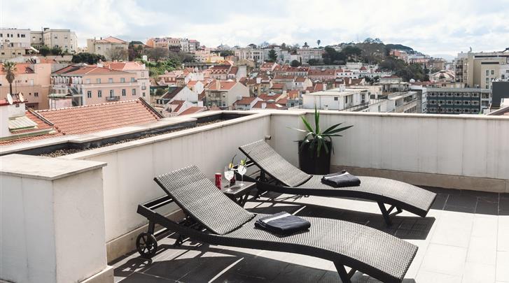 Lissabon, Hotel Lisboa, Terras