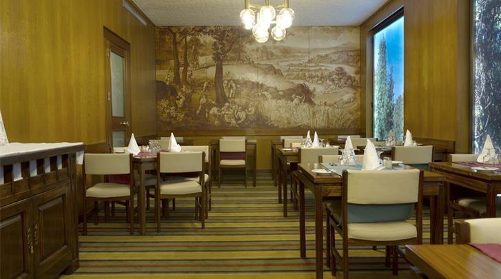 Lissabon, Hotel Miraparque, Ontbijtrestaurant