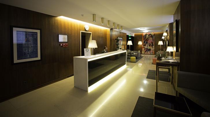 Lissabon, Hotel Miraparque, Receptie