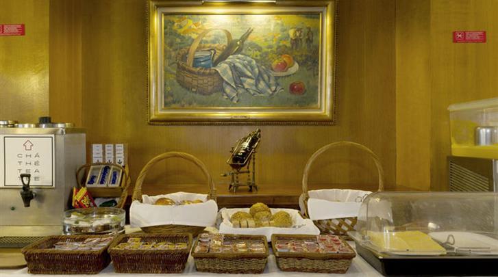 Lissabon, Hotel Miraparque, Ontbijtbuffet
