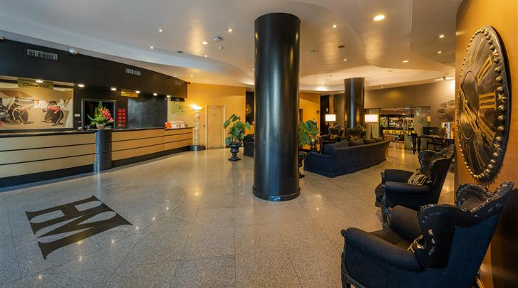 Lissabon, Hotel Mundial, Lobby
