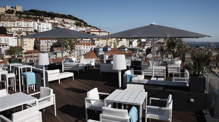 Lissabon, Hotel Mundial, Rooftop Bar