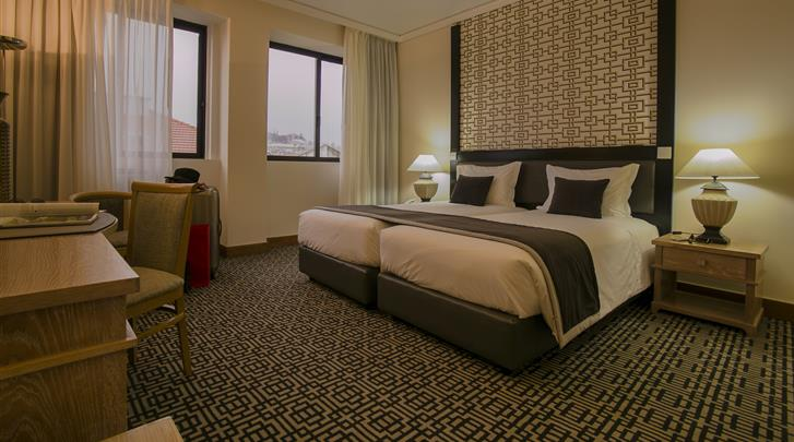 Lissabon, Hotel Mundial, Standaard kamer