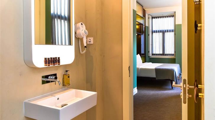 Lissabon, Hotel My Story Charming Augusta, Badkamer