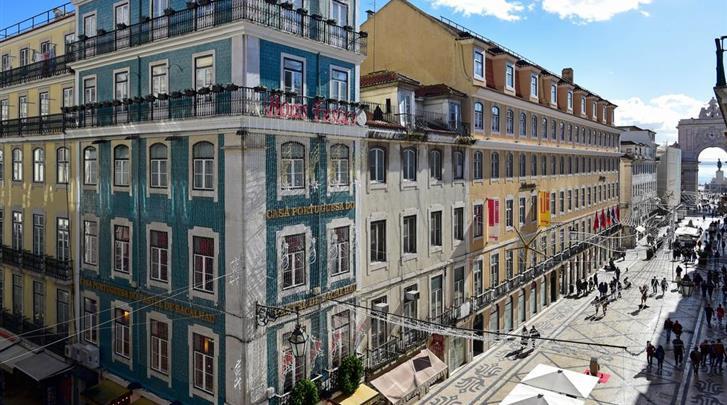 Lissabon, Hotel My Story Charming Augusta, Uitzicht