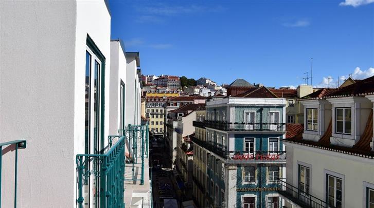 Lissabon, Hotel My Story Charming Augusta, Façade hotel