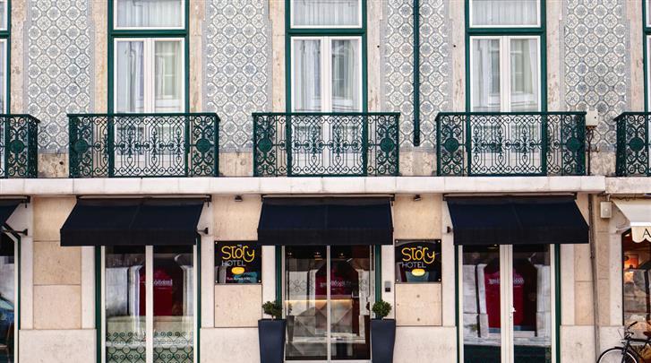Lissabon, Hotel My Story Ouro, Façade hotel