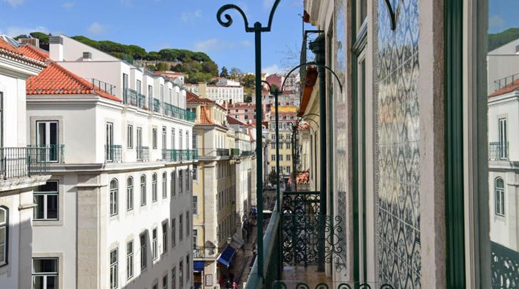 Lissabon, Hotel My Story Ouro, Omgeving