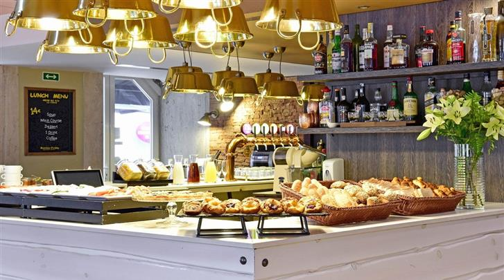 Lissabon, Hotel My Story Ouro, Ontbijtbuffet