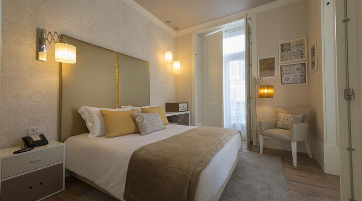 Lissabon, Hotel My Story Ouro, Standaard kamer