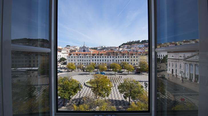 Lissabon, Hotel My Story Rossio, Uitzicht