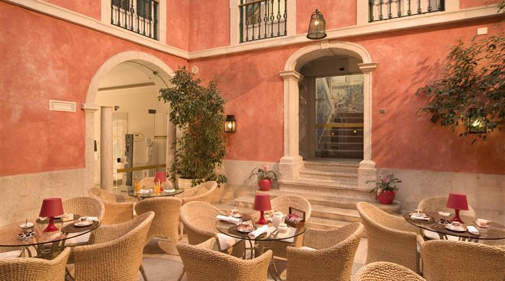 Lissabon, Hotel Real Palacio, Patio