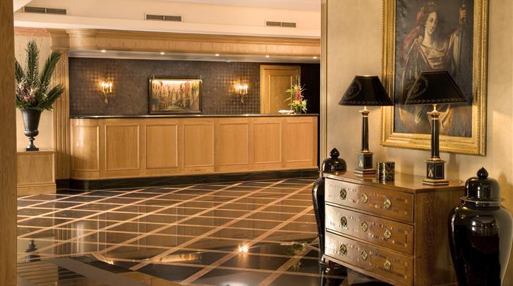 Lissabon, Hotel Real Palacio, Receptie